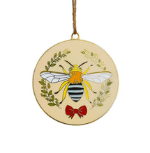 Load image into Gallery viewer, Limited Edition Christmas Bee Ornament