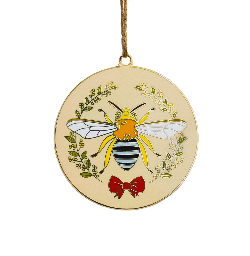 Limited Edition Christmas Bee Ornament