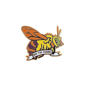 Teddy Bear Bee Enamel Pin