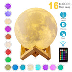 Load image into Gallery viewer, Rechargeable Moon Lamp - Bright Box