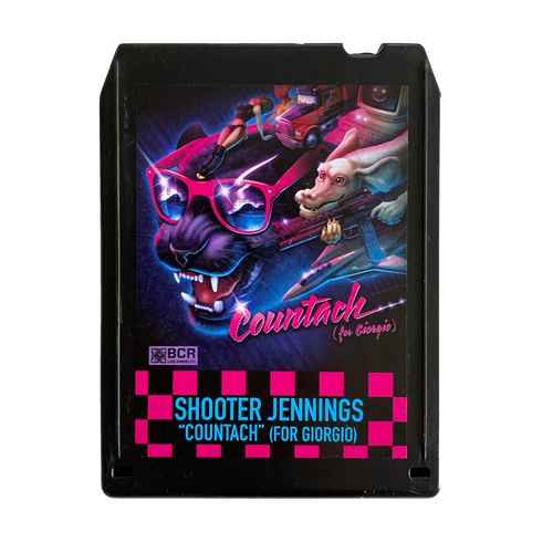 Shooter Jennings - Countach 8 Track - Black