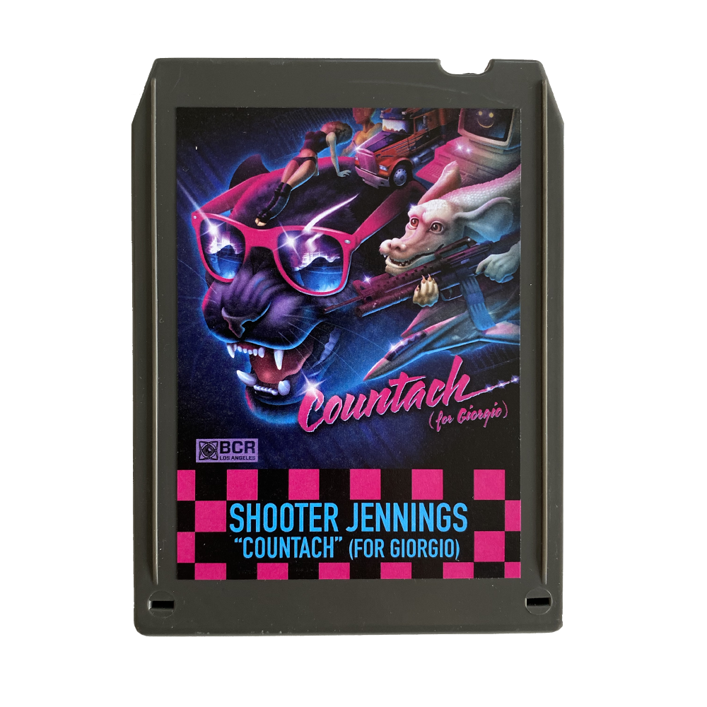 Shooter Jennings - Countach 8 Track - Charcoal