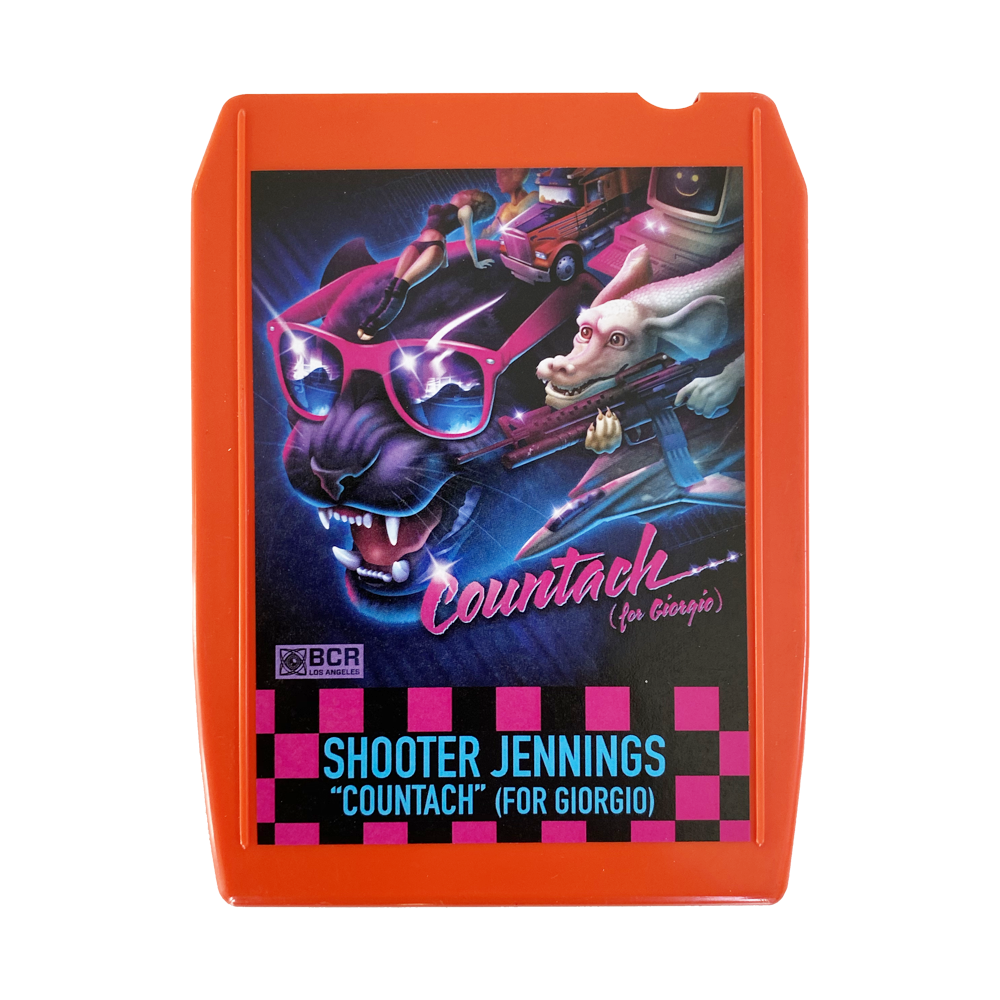 Shooter Jennings - Countach 8 Track - Orange