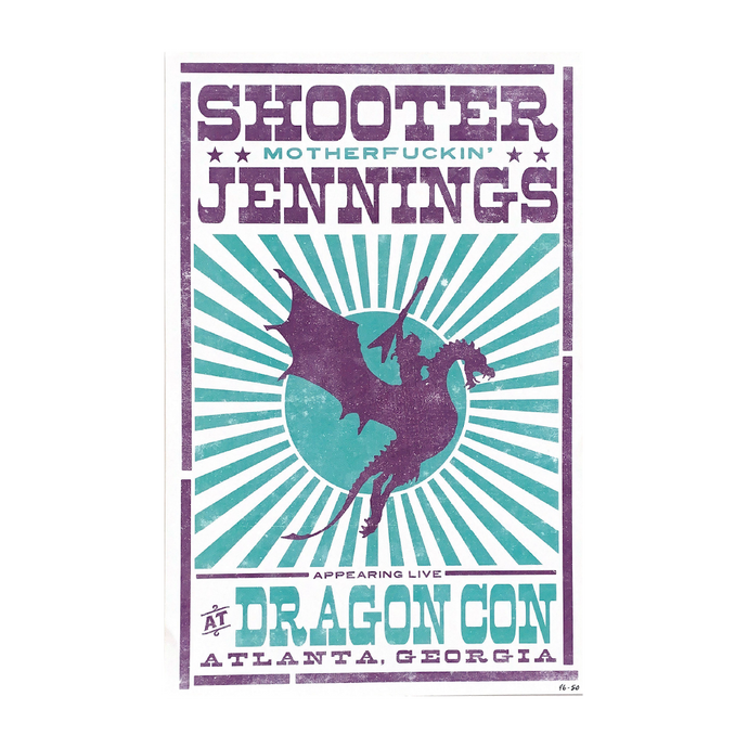 Shooter Jennings - Live At Dragoncon 2016 Poster
