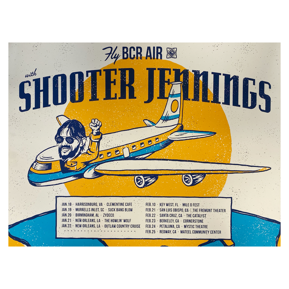2018 Fly BCR Air Poster
