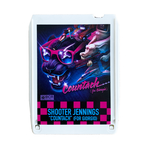 Shooter Jennings - Countach 8 Track - White