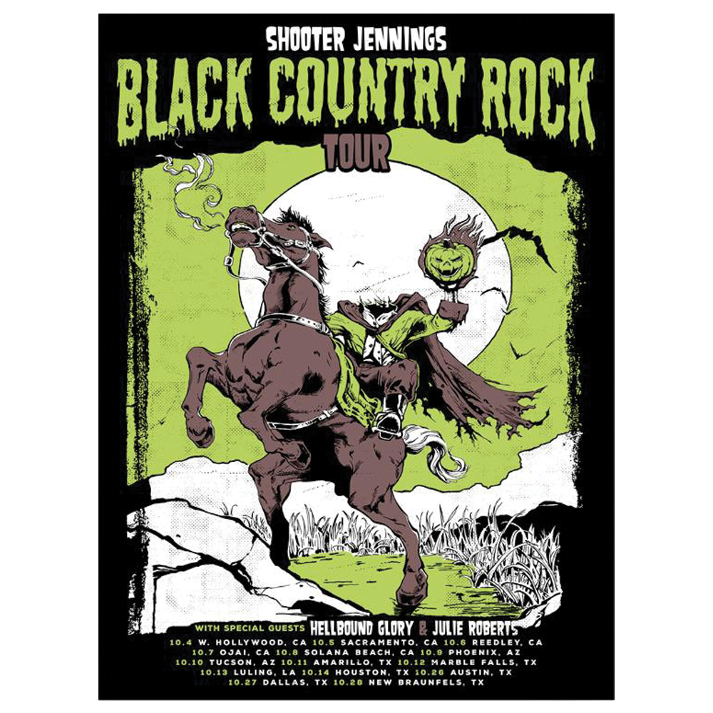 2017 Black Country Rock Tour Poster