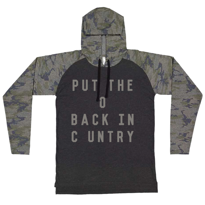 Put The 'O' Back In Country Hoodie PRE-ORDER