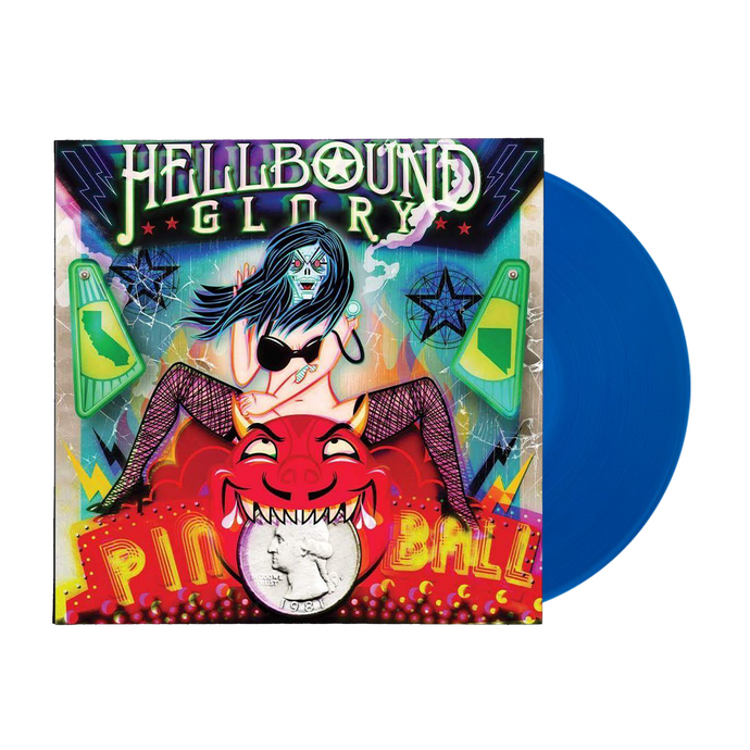 Hellbound Glory - Pinball LP + CD