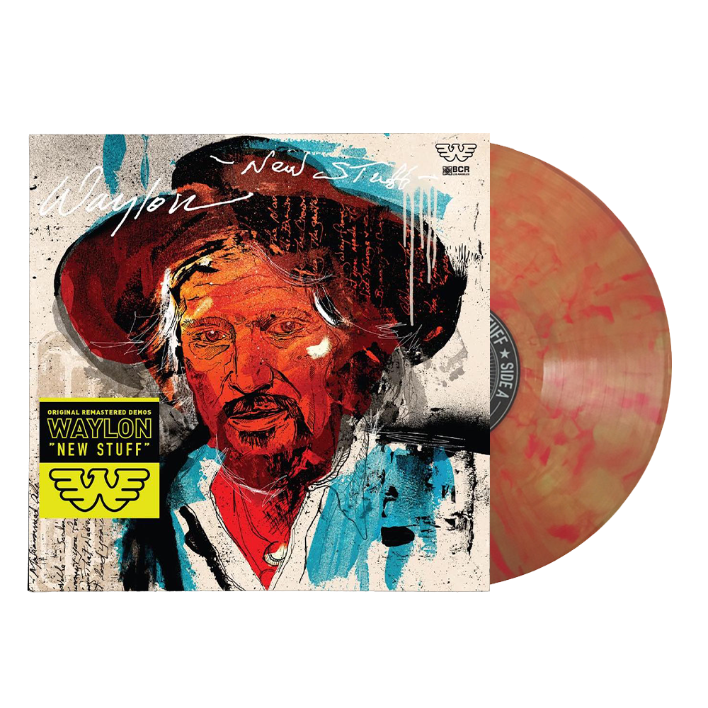 Waylon Jennings - New Stuff LP