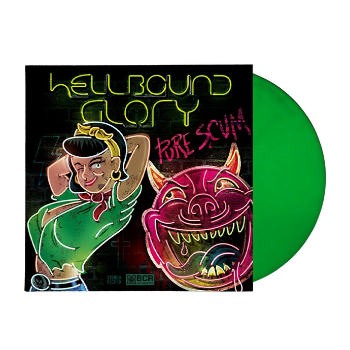 Hellbound Glory - Pure Scum LP + CD
