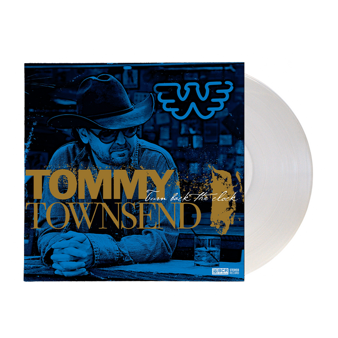 Tommy Townsend - Turn Back The Clock LP + CD