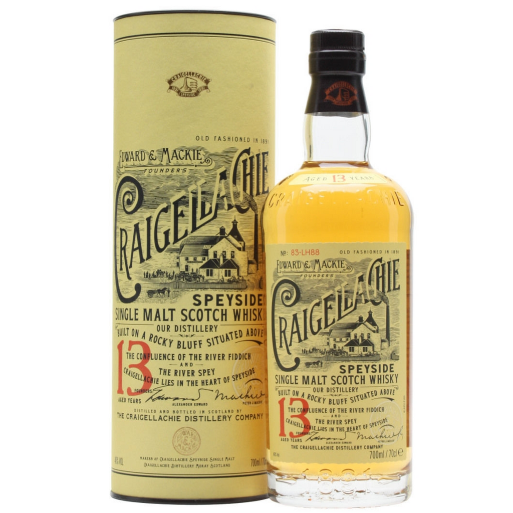 Craigellachie 13 Year Old Single Malt Whiskey 700ml