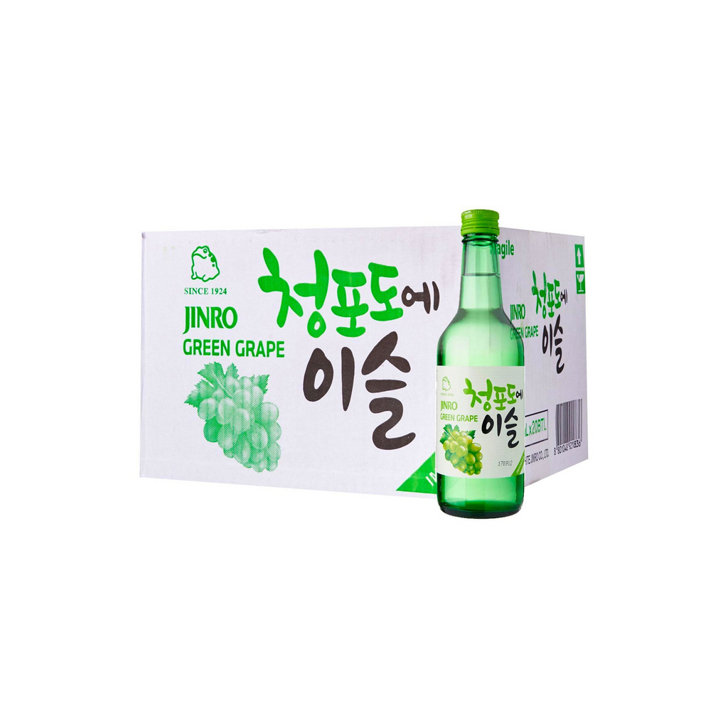 Chamisul Jinro Green Grape Soju (20 x 360ml)