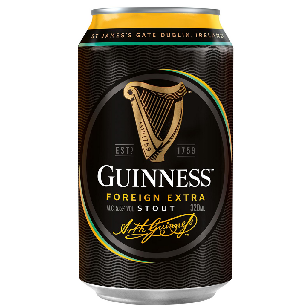 Guinness Stout Cans (24 x 320ml)