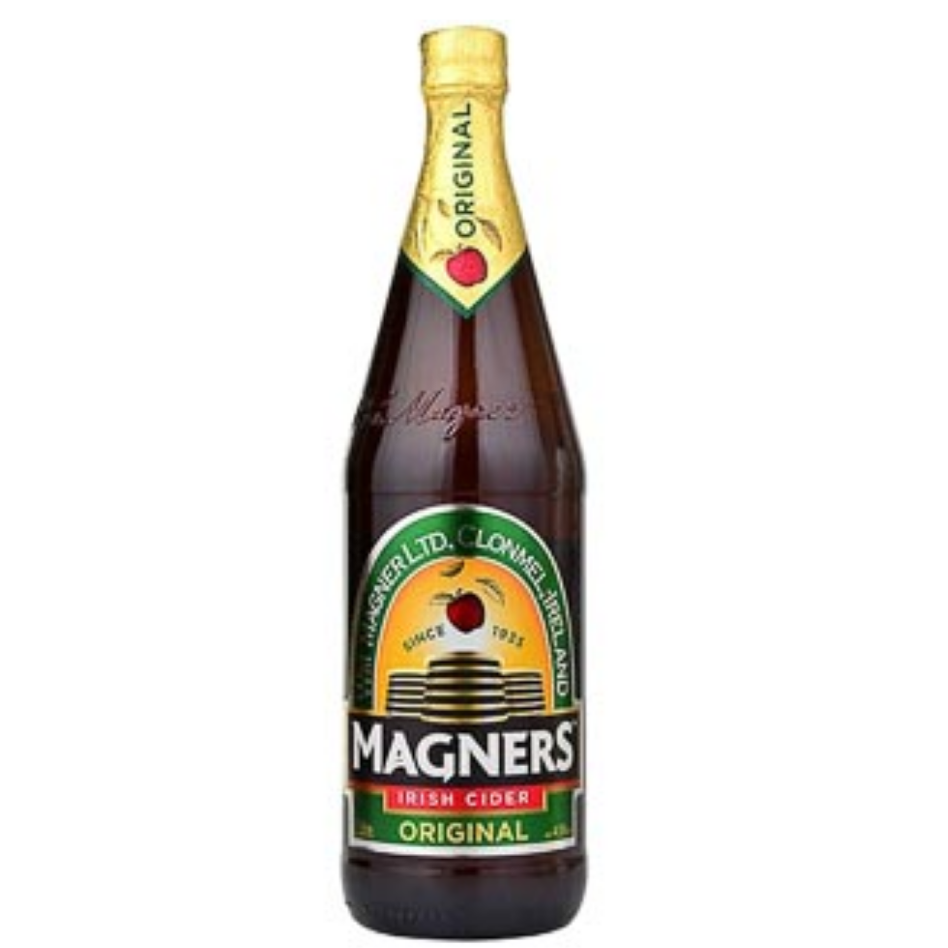 Magners Apple Cider Glass Bottles (12 x 568ml)