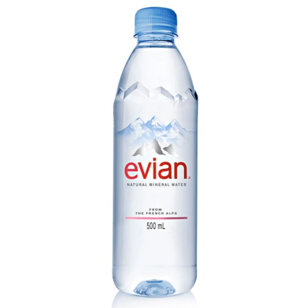 Evian Spring Water (24 x 500ml)