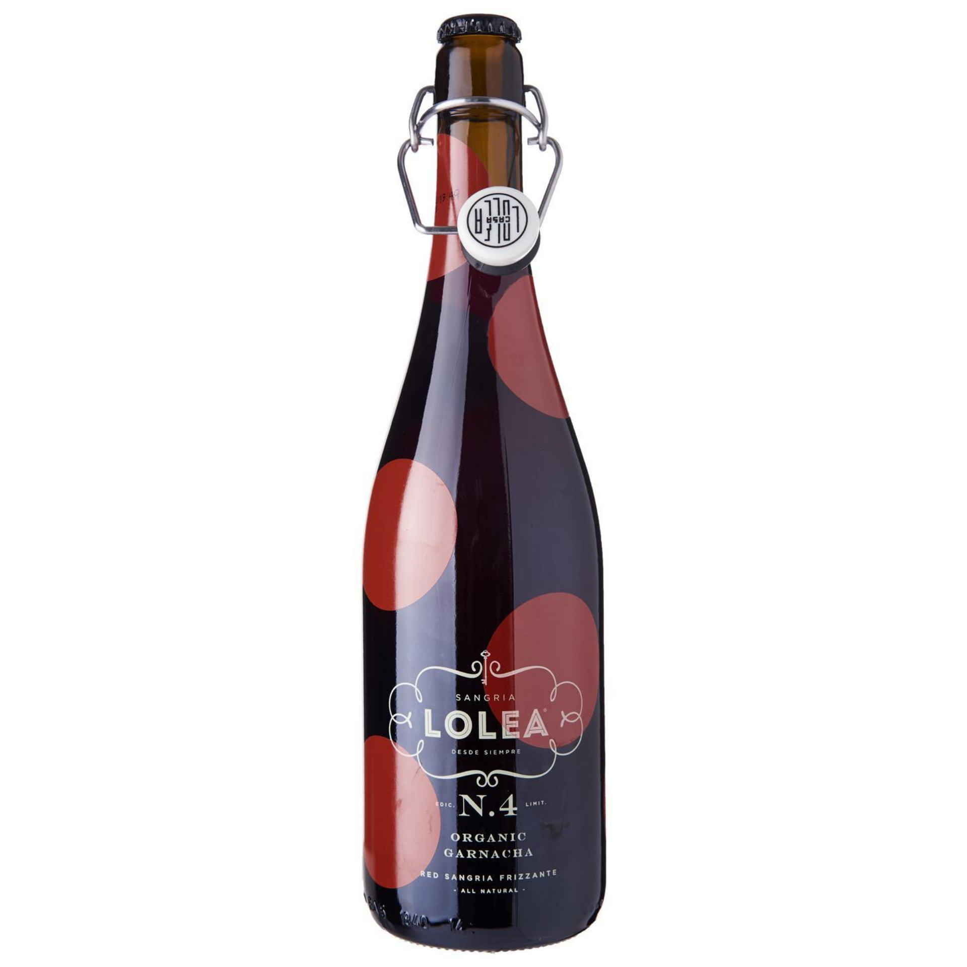 Lolea No. 4 Sparkling Organic Red Wine Sangria 750ml