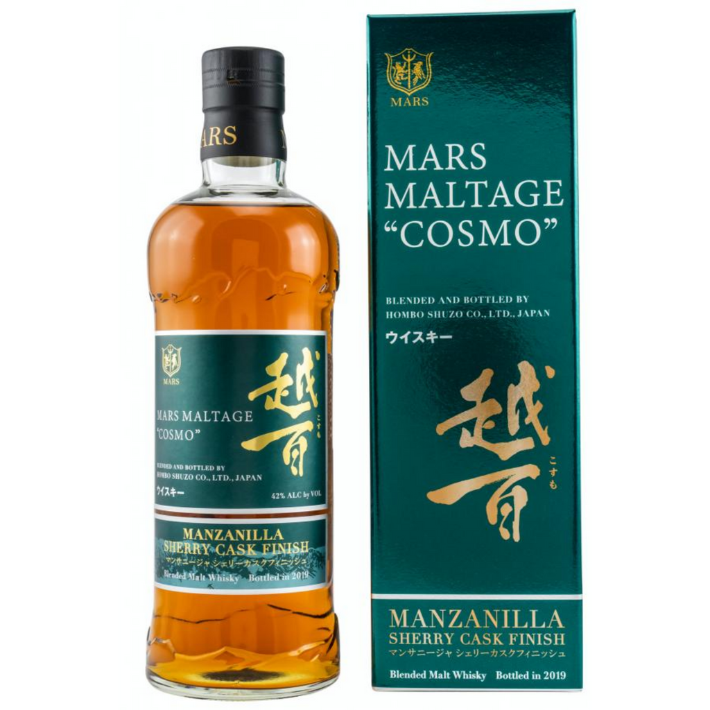 "Mars Maltage ""Cosmo"" Manzanilla Sherry Cask Finish Blended Whisky 700ml"