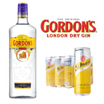 Load image into Gallery viewer, Gin & Tonic Bundle (1 x Gordon Gin 700ml & Schweppes Tonic 24 Cans x 330ml)