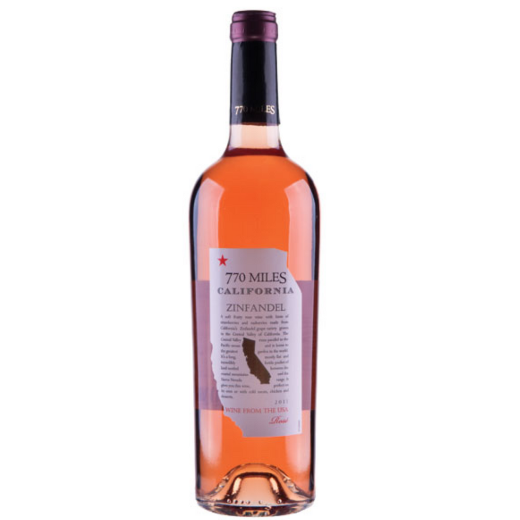 Vin De California 770 Miles Zinfandel Rose 2019 750ml