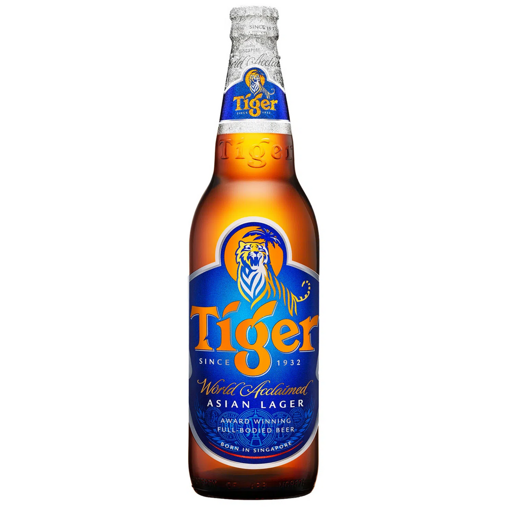 Tiger Beer Glass Bottles (24 x 330ml) - APRIL 2021