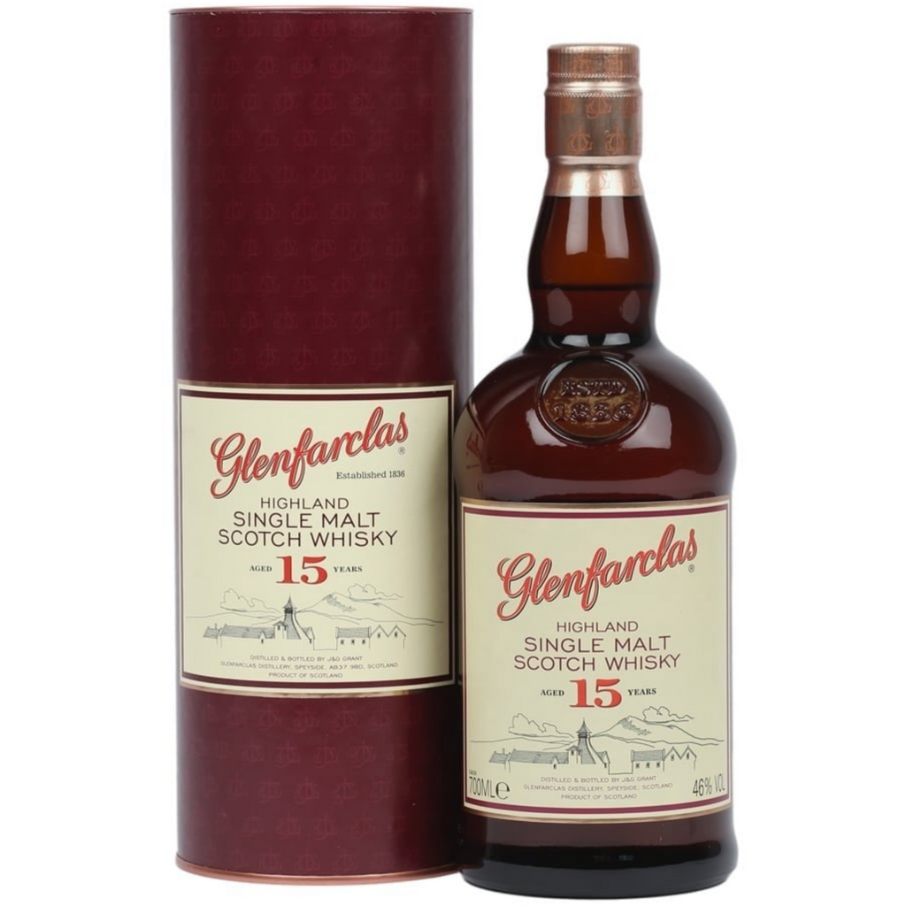Glenfarclas 15 Year Old Single Malt Whiskey 700ml
