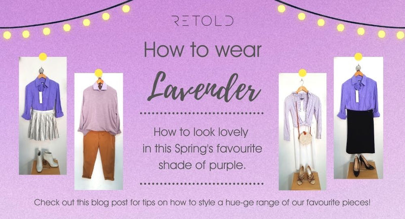 How to wear Lavender - THE colour of this Spring Season