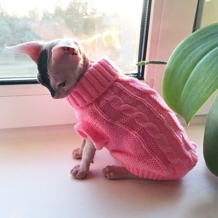 Cable Knit Pet Sweater
