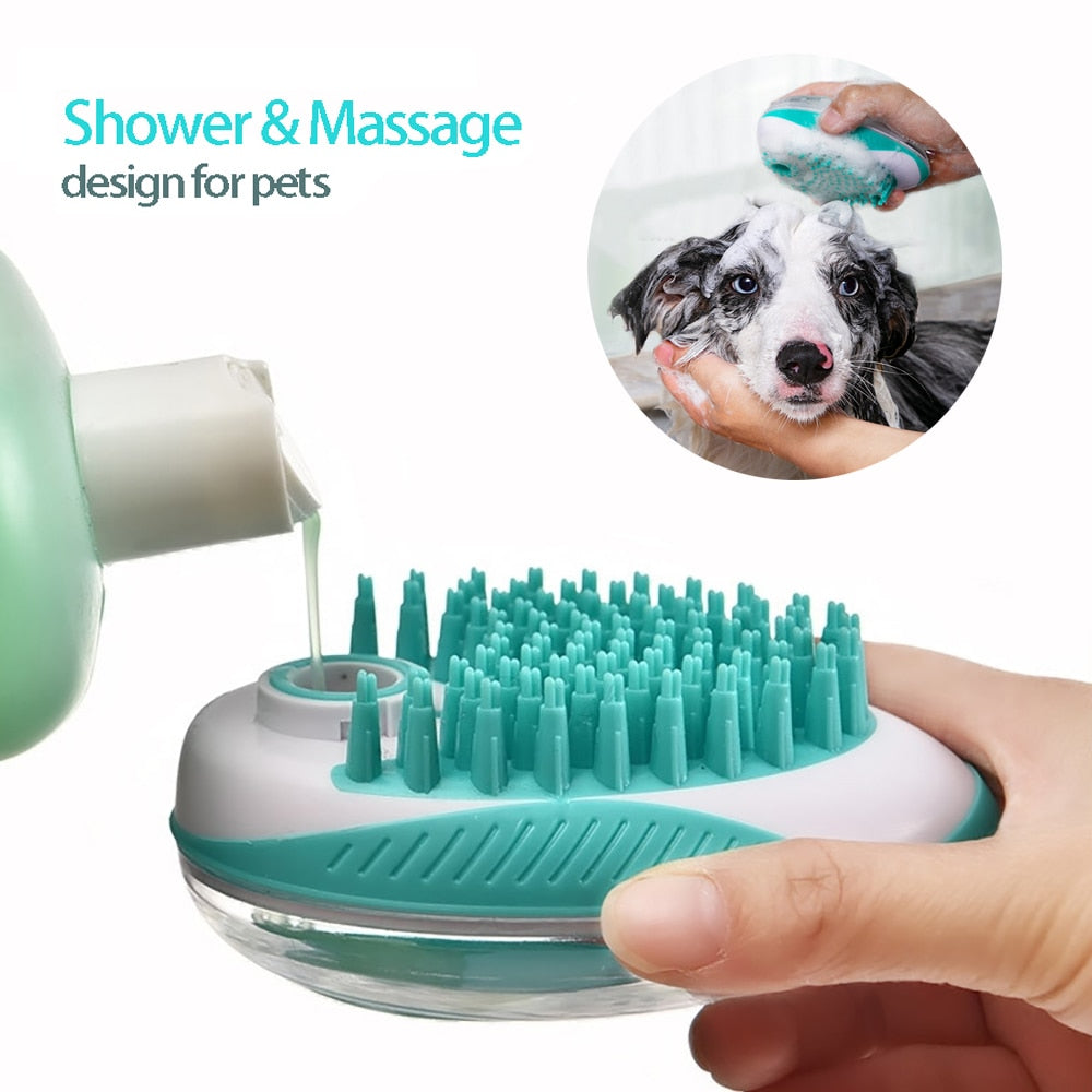 2-in-1 Pet SPA Bath Brush
