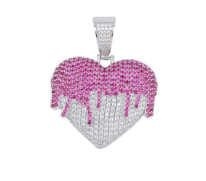 Drippin' Heart Necklace