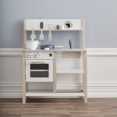 Cucina Gioco Natural e White | KIDS CONCEPT | RocketBaby.it