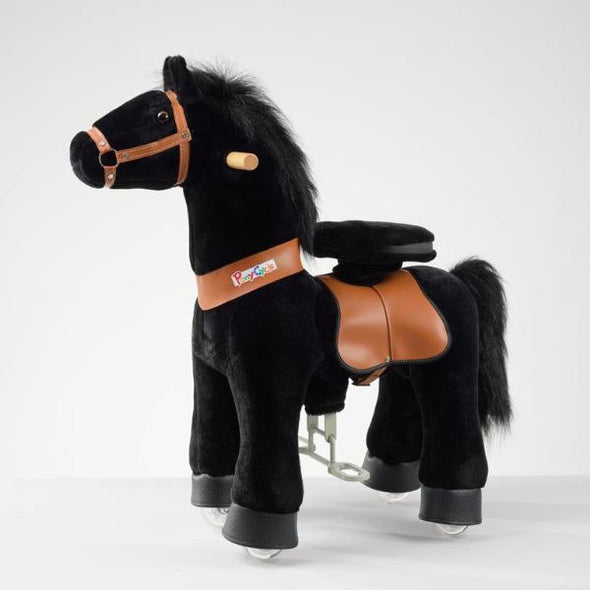 Cavallo Scooter a Pedali Nero 3-5 Anni | PONNIE | RocketBaby.it