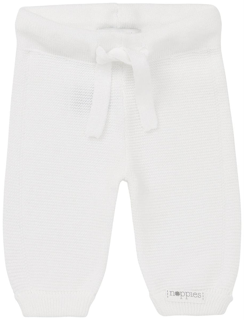 Pantaloni Grover Bianco | NOPPIES | RocketBaby.it