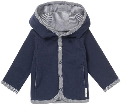 Cardigan Joke Navy | NOPPIES | RocketBaby.it