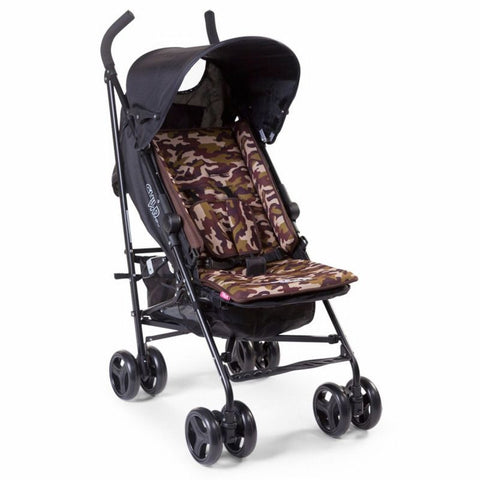 Materassino da Passeggino in Neoprene Reversibile Camo - RocketBaby - 1