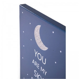 Dipinto ad olio You are my sky full of stars - RocketBaby - 2