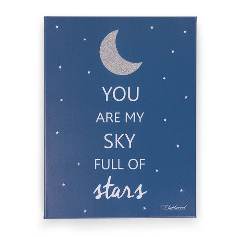 Dipinto ad olio You are my sky full of stars | CHILDHOME | RocketBaby.it
