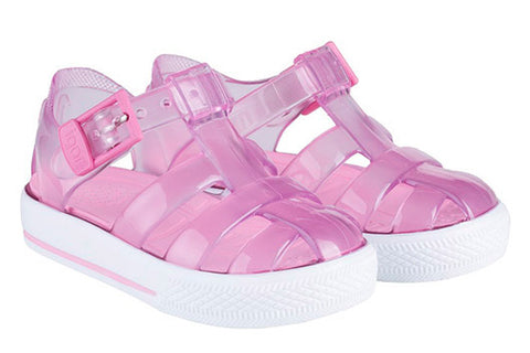 Sandali Ragnetto Tenis Rosa | IGOR SHOES | RocketBaby.it
