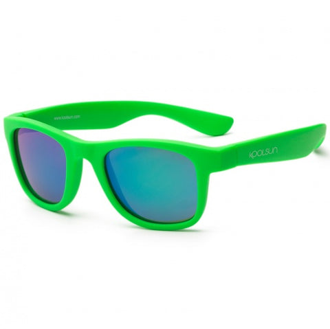 Occhiali da Sole Wave Neon Green | KOOLSUN | RocketBaby.it