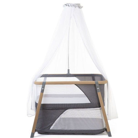 Culla da Viaggio con Zanzariera Nacalu WoodLook | CHILDHOME | RocketBaby.it