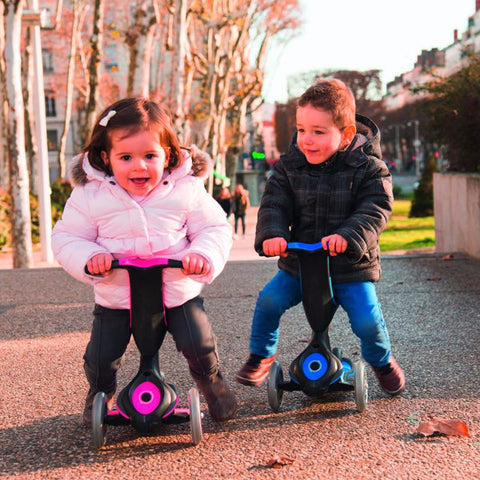 Monopattino Evo 5 in 1 - Rosa 1-6 Anni | GLOBBER | RocketBaby.it