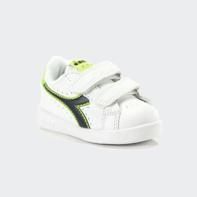 Diadora Baby Game P TD White e Green | DIADORA | RocketBaby.it