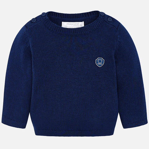 Maglione Basico Blu Scuro | MAYORAL | RocketBaby.it