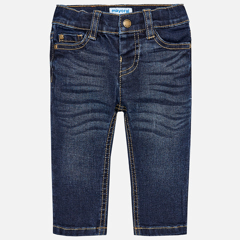 Jeans Slim Fit Basico Scuro | MAYORAL | RocketBaby.it