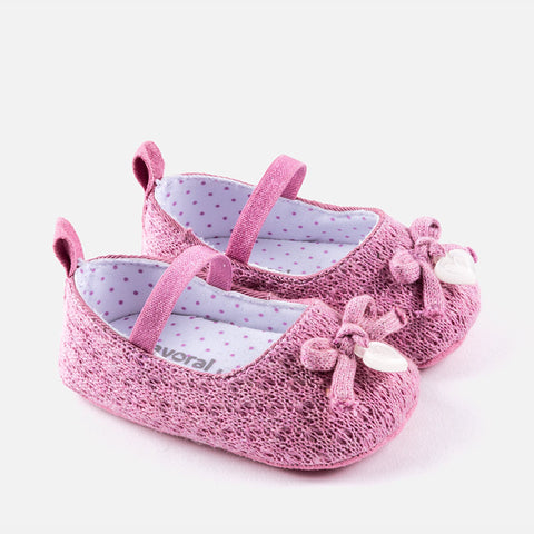 Scarpe Soft Sole Tricot Malva | MAYORAL | RocketBaby.it