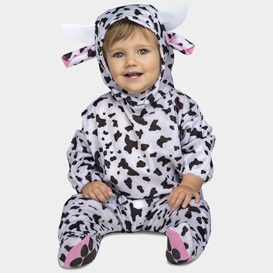Costume Travestimento Mucca 7-12 Mesi | MOM FUN COMPANY | RocketBaby.it
