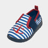 Scarpe Antiscivolo Da Casa Maritime Navy White | PLAYSHOES | RocketBaby.it
