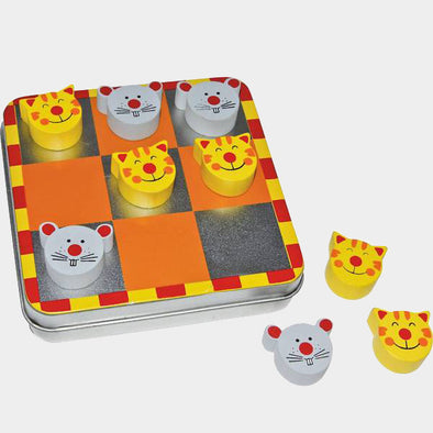 Tic Tac Toe Magnetico Gatto E Topo | LEGLER | RocketBaby.it