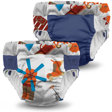 Set 2 Mutandine Trainer Harvest and Nautical | KANGA CARE | RocketBaby.it